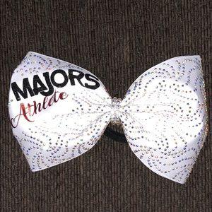 the majors cheerleading bow
